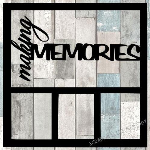Making Memories Scrapbook Overlay