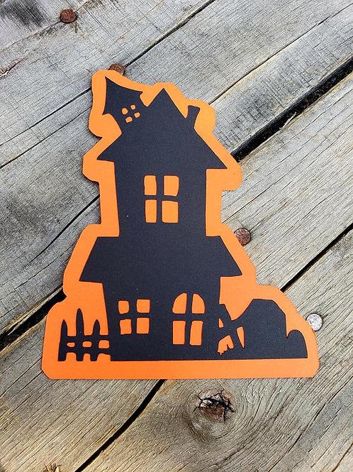 Haunted House Paper Piecing Die Cut
