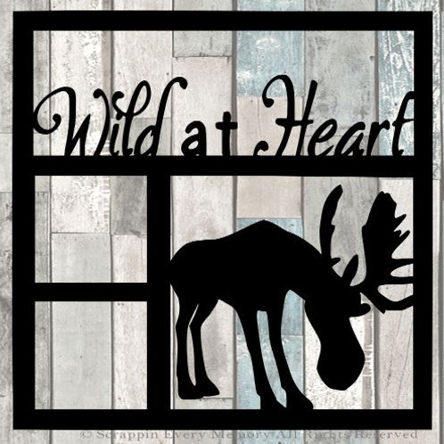 Wild At Heart Scrapbook Overlay