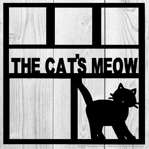 The Cats Meow Scrapbook Overlay