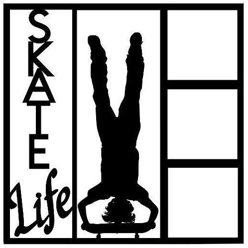 Skate Life Scrapbook Overlay