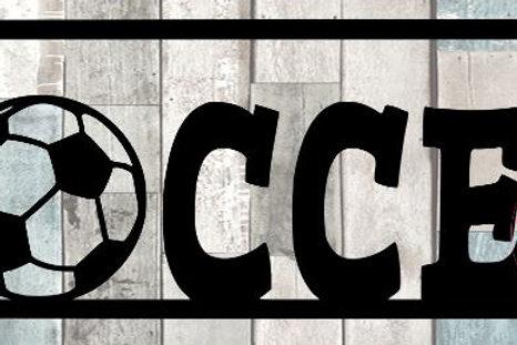 Soccer Scrapbook Title