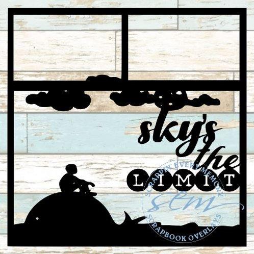 Sky's The Limit Scrapbook Overlay