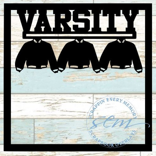 Varsity Scrapbook Overlay