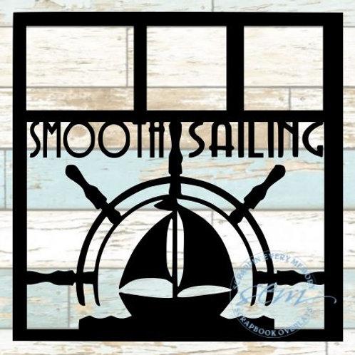 Smooth Sailing Scrapbook Overlay