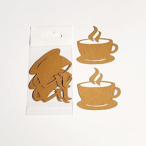 Coffee Itsy Bitsy Embellishments