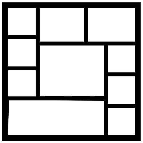 Frame 023 Scrapbook Overlay
