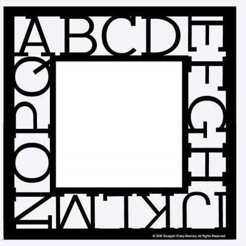 Alphabet Scrapbook Overlay
