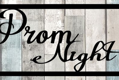 Prom Night Scrapbook Title