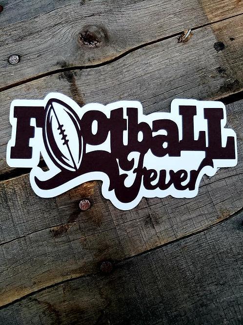 Football Fever Paper Piecing Die Cut