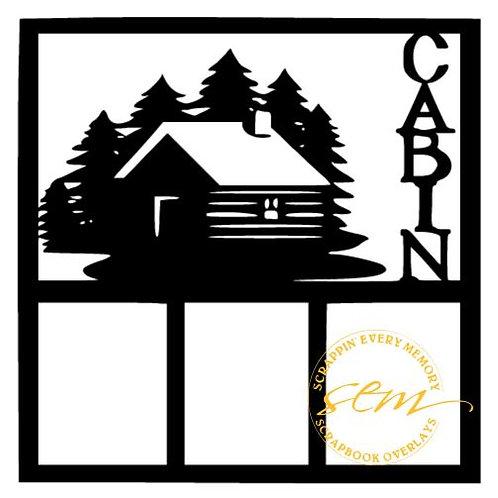 Cabin Scrapbook Overlay