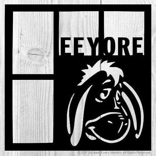 Eeyore Scrapbook Overlay