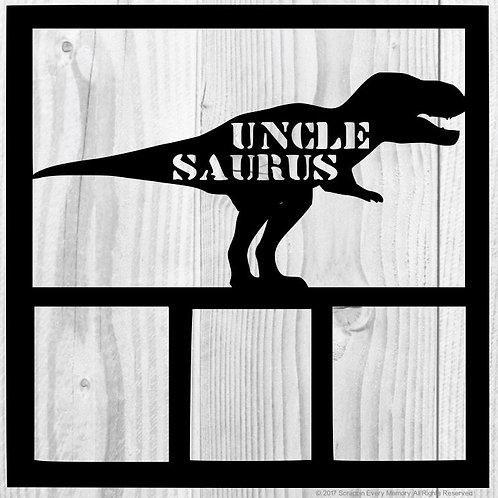 Uncle Saurus Scrapbook Overlay