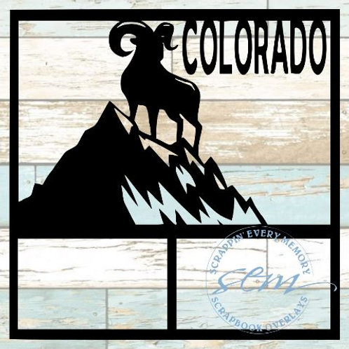 Colorado Scrapbook Overlay