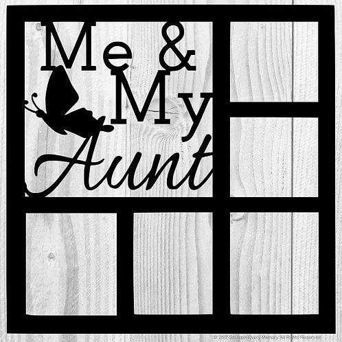 Me & My Aunt Scrapbook Overlay