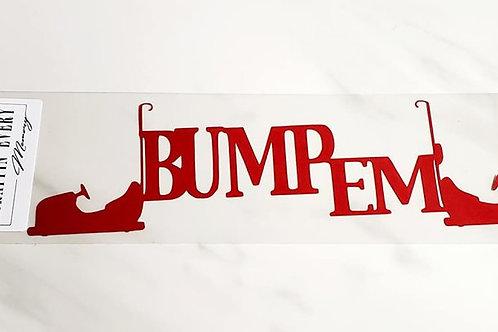 Bump Em' Scrapbook Deluxe Die Cut