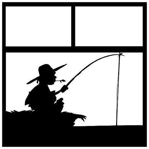 Fishing Scrapbook Overlay