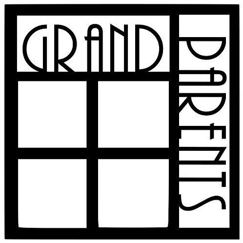 Granparents Scrapbook Overlay