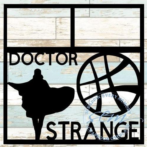 Doctor Strange Scrapbook Overlay