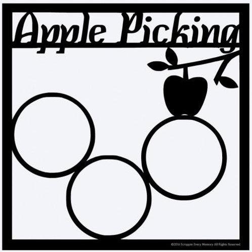 Apple Picking Scrapbook Overlay