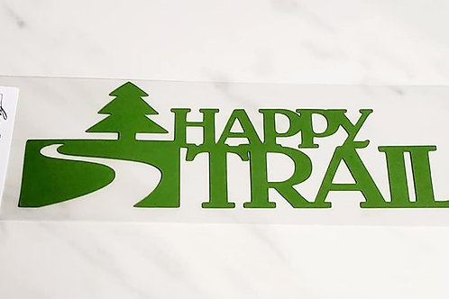Happy Trails Scrapbook Deluxe Die Cut