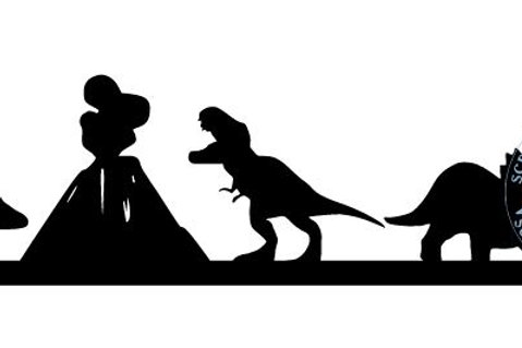 Dinosaurs Scrapbook Border
