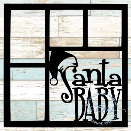 Santa Baby Scrapbook Overlay