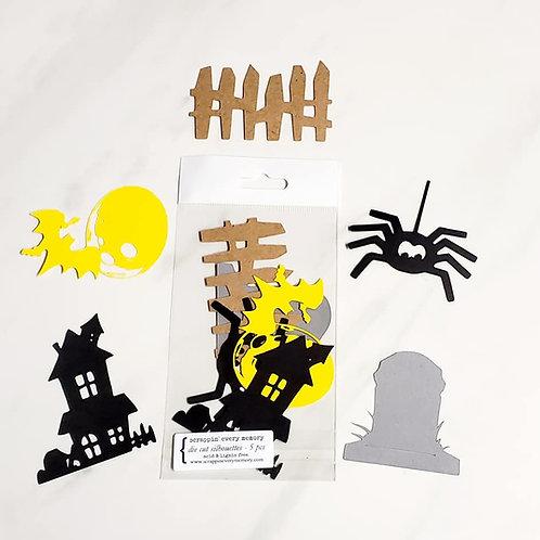 Halloween Die Cut Silhouette Mini Set