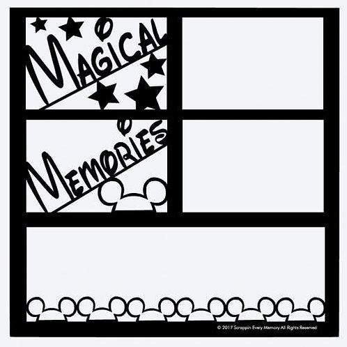 Magical Memories Scrapbook Overlay