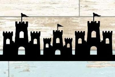 Sand Castles Scrapbook Border