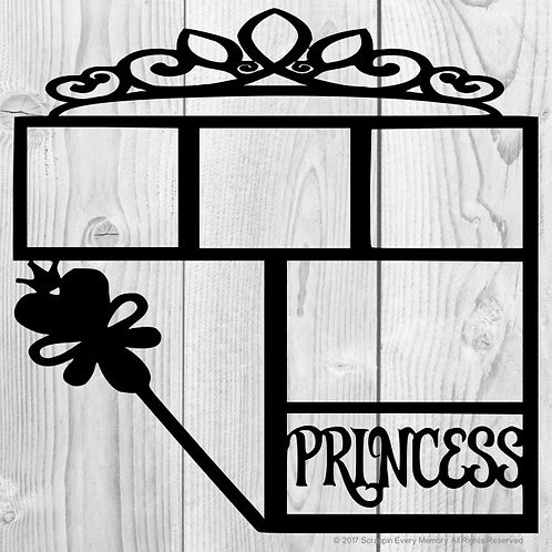 Princess Scrapbook Overlay