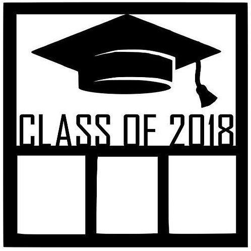 Class Of 2018 Scrapbook Overlay