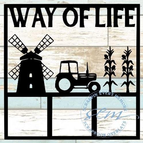 Way Of Life Scrapbook Overlay