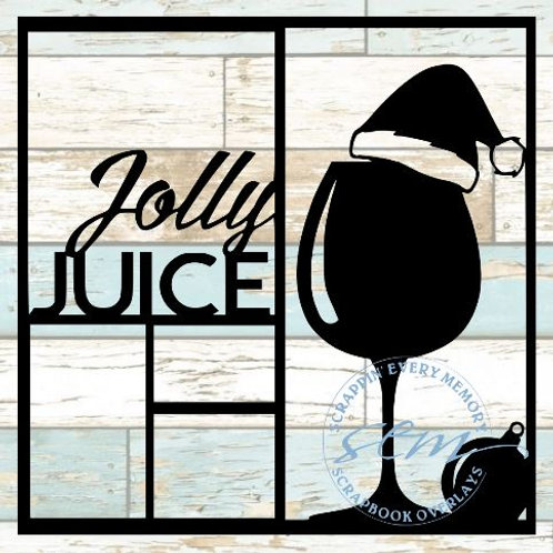 Jolly Juice Scrapbook Overlay
