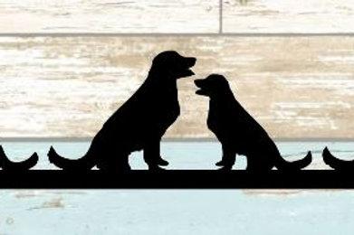 Dog Scrapbook Border