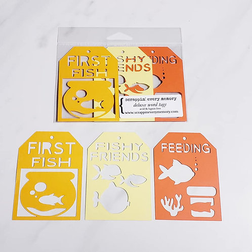 First Fish Deluxe Word Tags