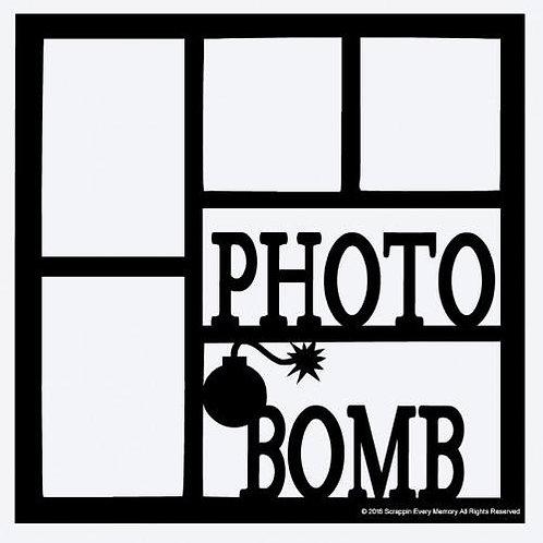 Photo Bomb Scrapbook Overlay
