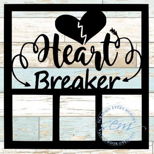 Heart Breaker Scrapbook Overlay