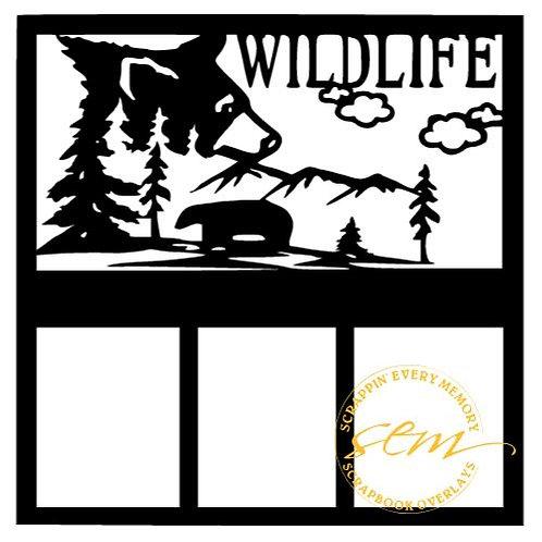 Wildlife Scrapbook Overlay
