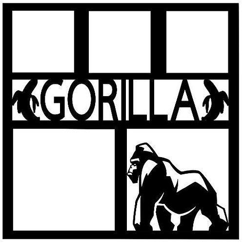 Gorilla Scrapbook Overlay