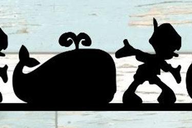 Pinocchio Scrapbook Border