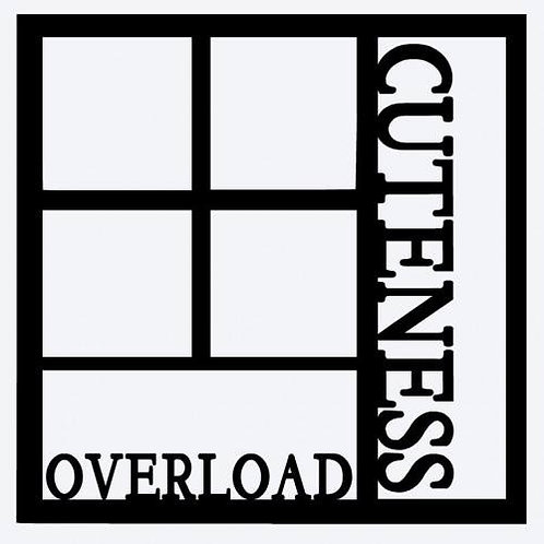 Cuteness Overload Scrapbook Overlay