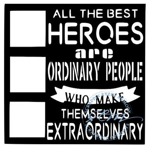 All The Best Heroes Scrapbook Overlay