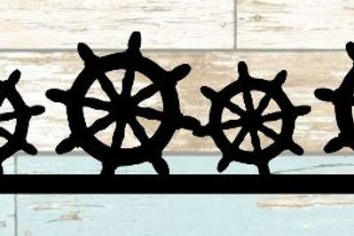 Ship Wheel Scrapbook Border