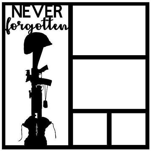 Never Forgotten Scrapbook Overlay