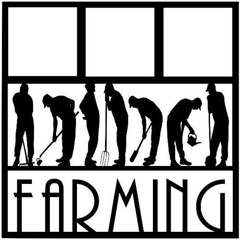 Farming Scrapbook Overlay