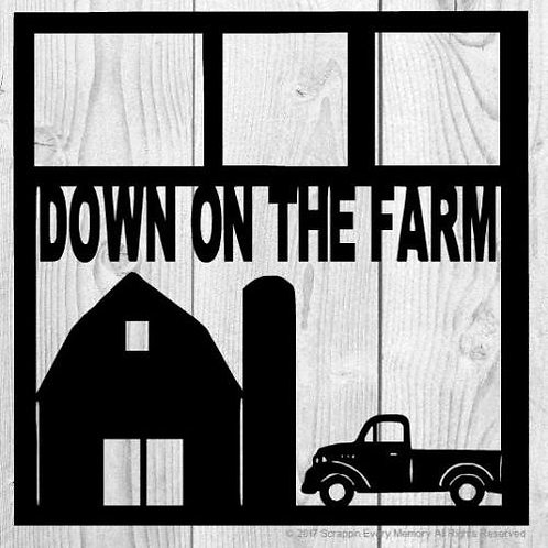 Down On The Farm Scrapbook Overlay