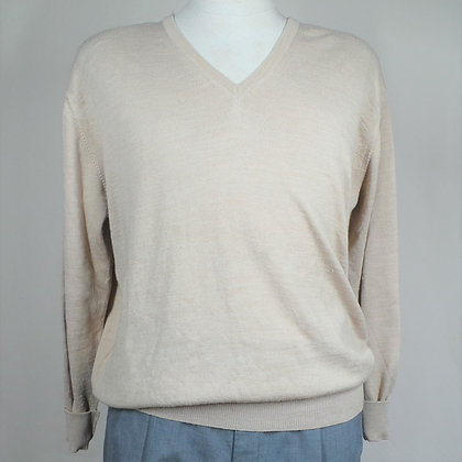 Pullover beige XL