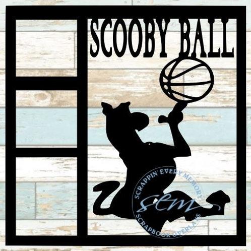 Scooby Ball Scrapbook Overlay