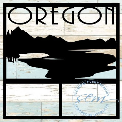 Oregon Scrapbook Overlay